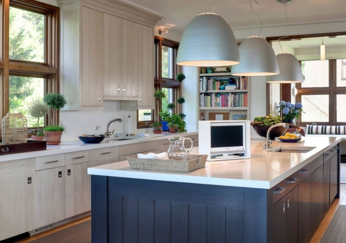 Popular White Kitchen Navy Island Ideas 27 Blue Kitchen Island Timeless Kitchen Grey Kitchen Designs