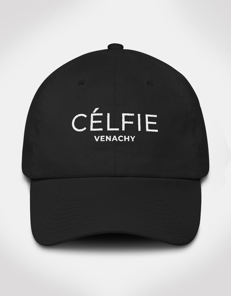 18b9bca6be8 CELFIE trending dad hat for men and women. www.venachy.com luxury dad hats  for men and women.