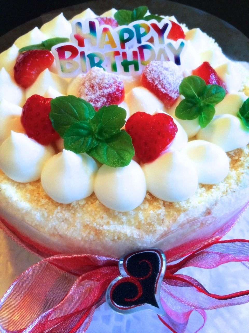 Strawberry Birthday Cake Homemade Japanese Style Cakes Pinterest
