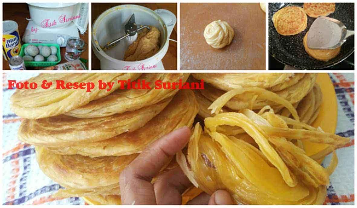 Resep Roti Maryam Atau Roti Konde Yang Lembut Lengkap Dengan Foto Tutorial Resep Roti Resep Resep Masakan