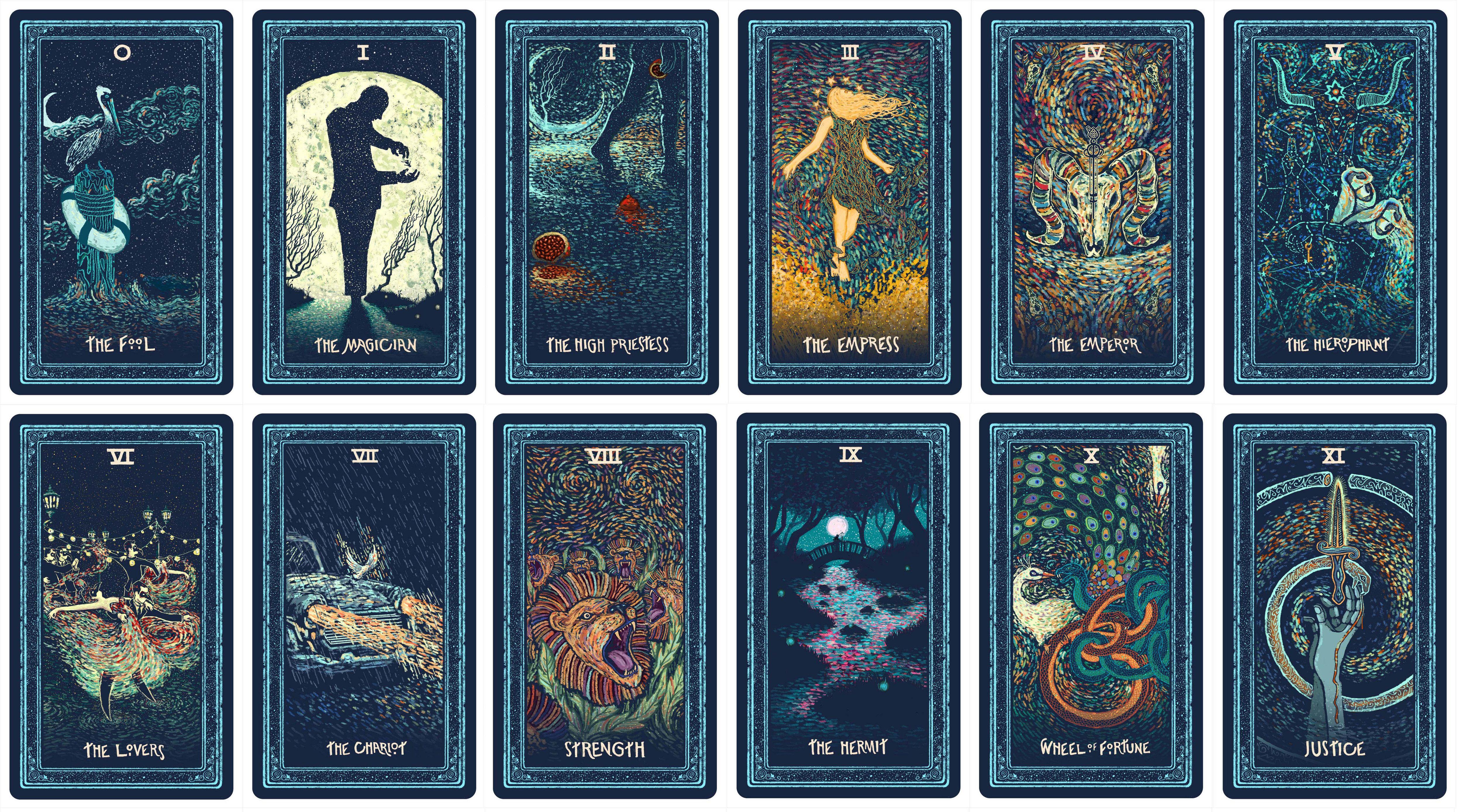 The Prisma Visions Tarot | Tarot tattoo, Tarot decks, Tarot