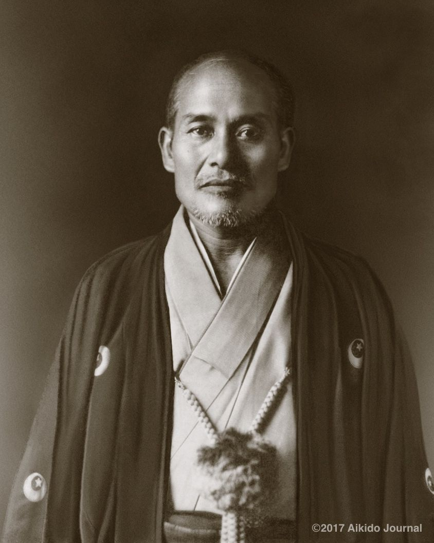 Aikido Founder Morihei Ueshiba in 1928. Photo via Stan Pranin at Aikido  Journal.