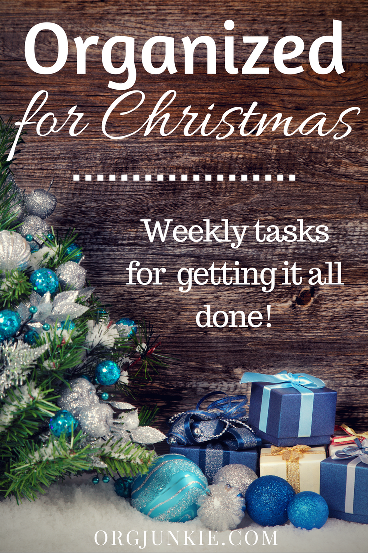 organized for christmas task 1 gift planner and budget a