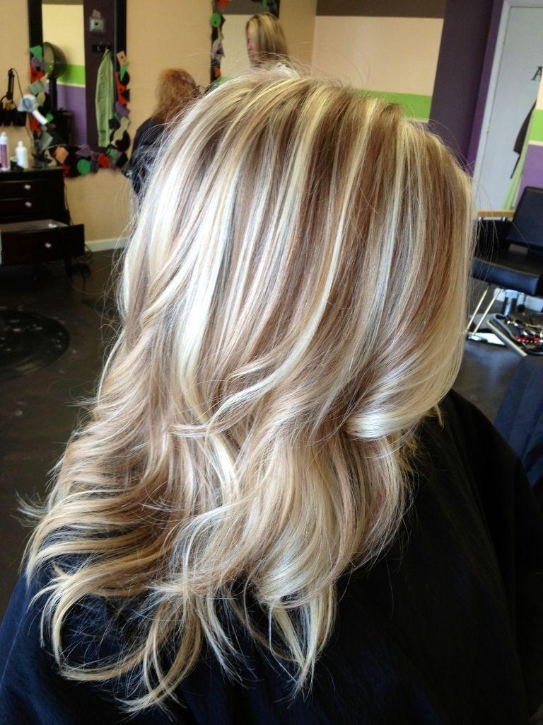 Red Lowlights In Blonde Hair Best Hair Color Ideas Hair Trends Blonde Low Lights Hair Hair Trends Hair Color