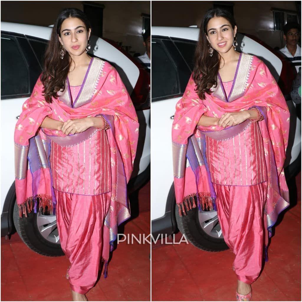 "Pinkvilla on Instagram: ""Sara Ali Khan looks pretty in pink"