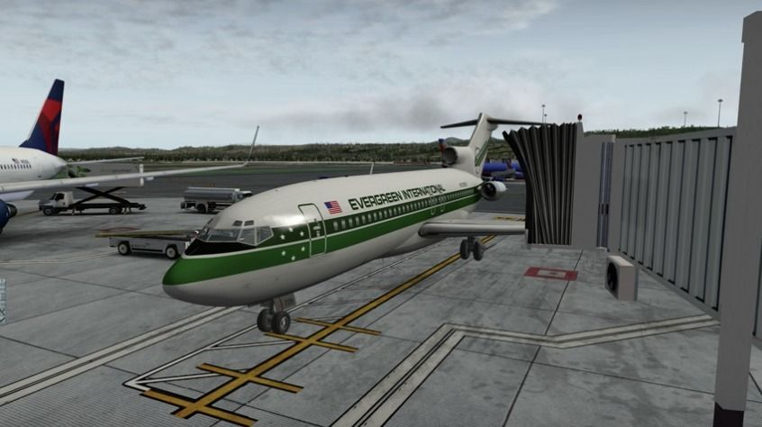 Full tutorial flight of the beautiful Boeing 727-100 by FlyJSim  The