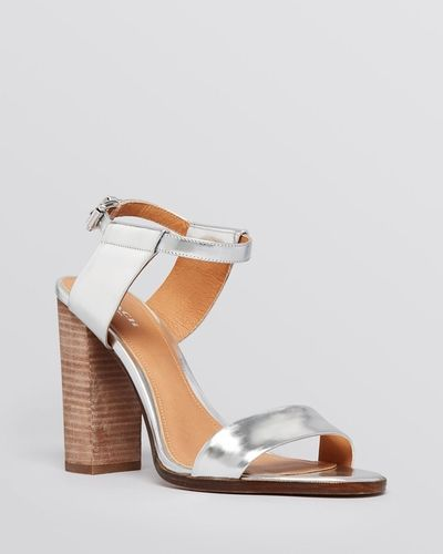 COACH Lexey Block Heel Sandal from Bloomingdale's on Catalog Spree