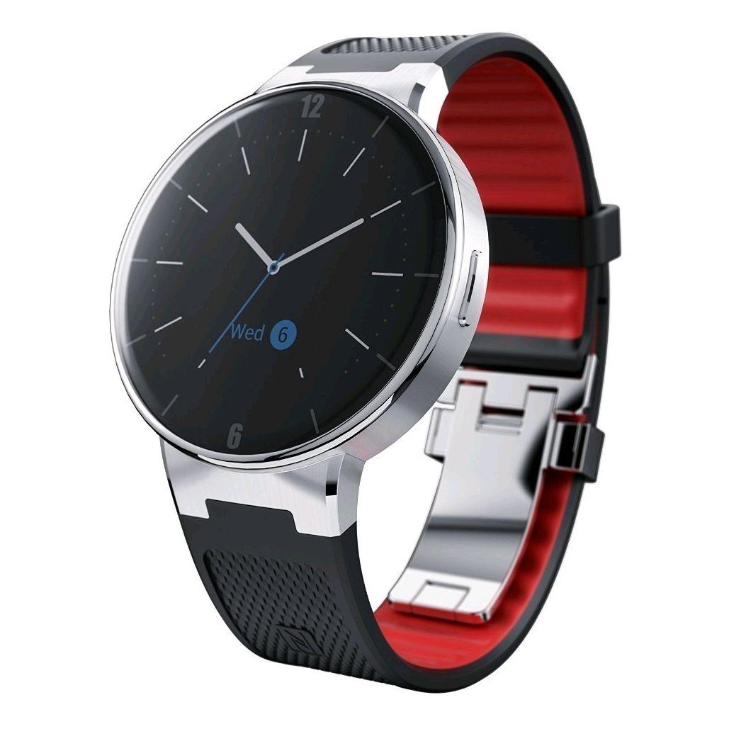 ALCATEL ONETOUCH Watch (Volcano Black/ Dark Red)   EXPANSYS商品番号: 272889