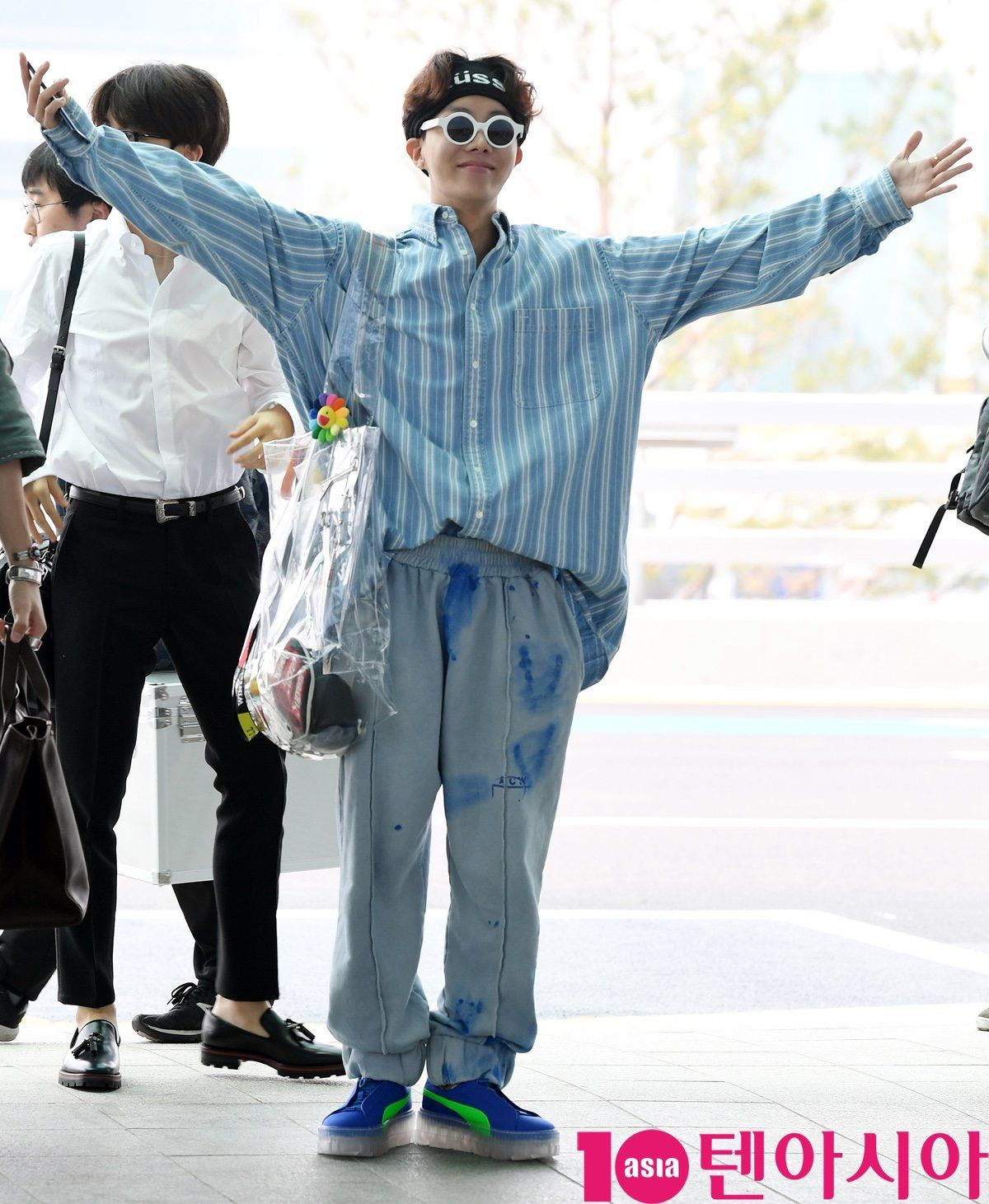 BTS J-Hope airport fashion (May 14th, 2018) Incheon Airport (With images) | Bts ...