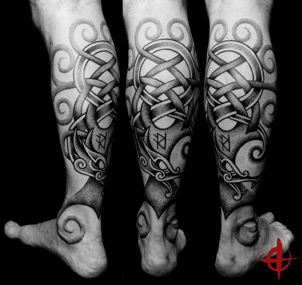 yggdrasil tattooed by hand tatoo. Black Bedroom Furniture Sets. Home Design Ideas