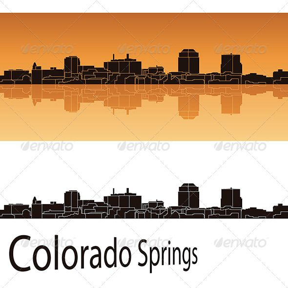 Colorado Springs Skyline With Images Colorado Springs Colorado Skyline