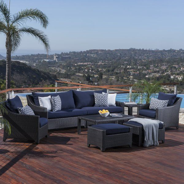 northridge 8 piece sofa set with cushions polo sofa set outdoor rh pinterest com