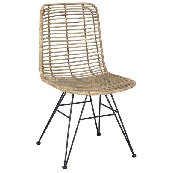 Pin Von Ronja Auf W O H N E N Stuhle Holz Und Metall Metallstuhle