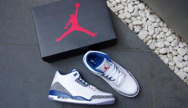 buy popular 80092 10b2c (7) air jordan 3 true blue   Tumblr Jordan Retro 3, Air Jordan