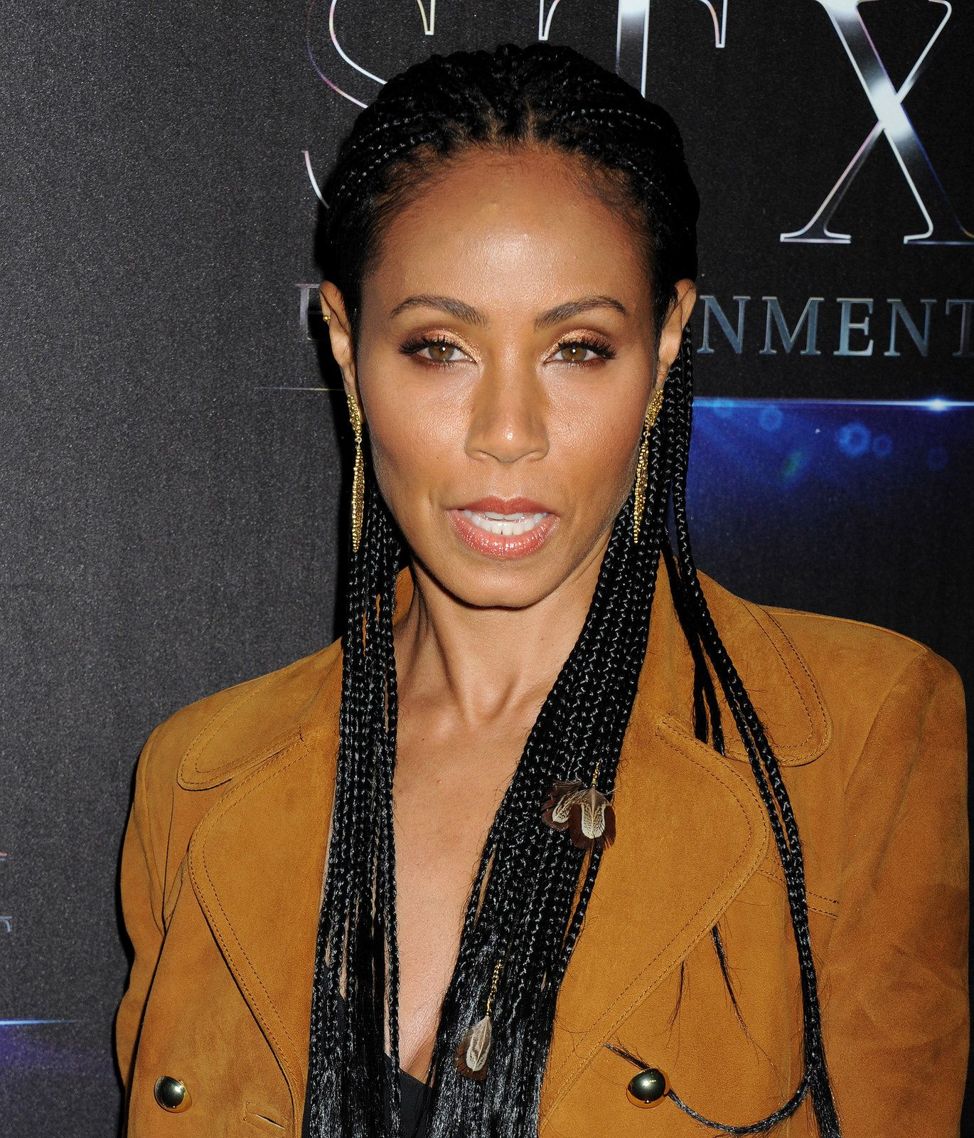 Jada pinkett celebrity curls pinterest jada