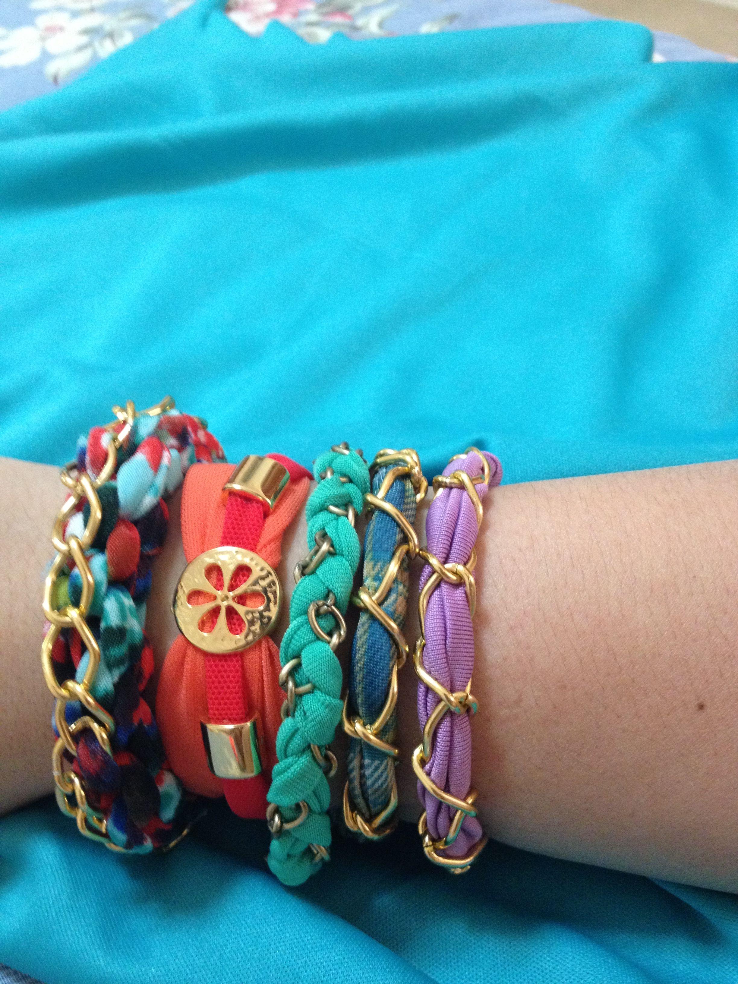 #pulseras  de tela #chicknot