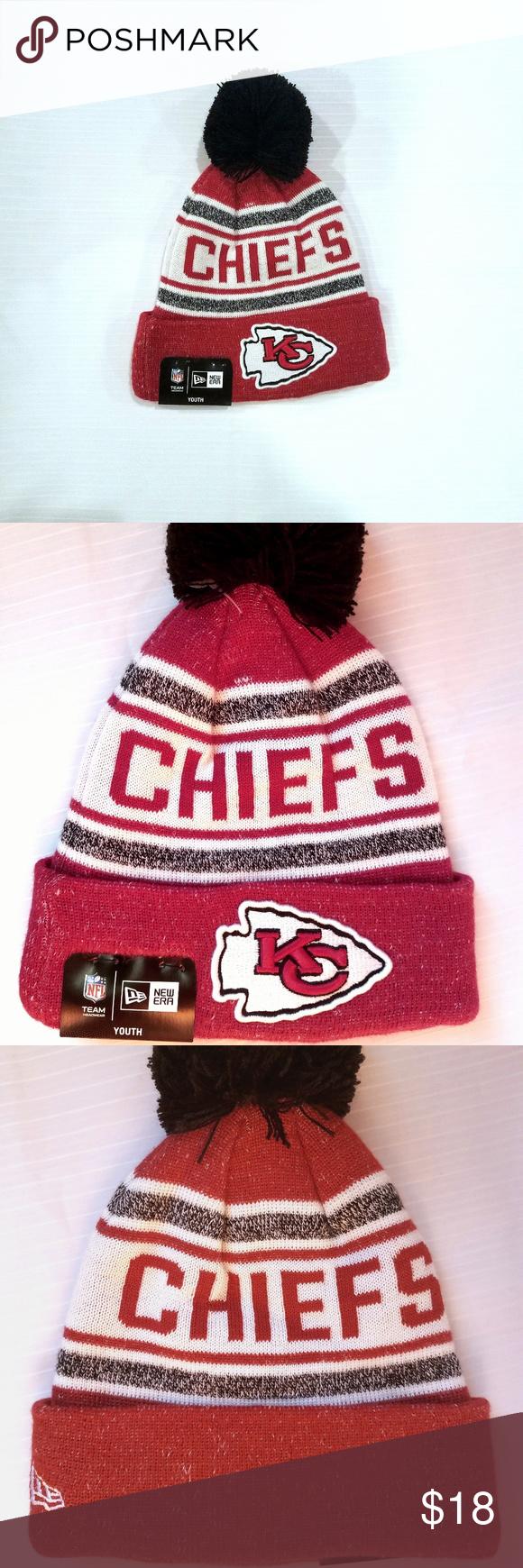 ba1e6b989c0 NWT Kansas City Chiefs Youth New Era Stocking Hat NWT New Era Kansas City  Chiefs Jr