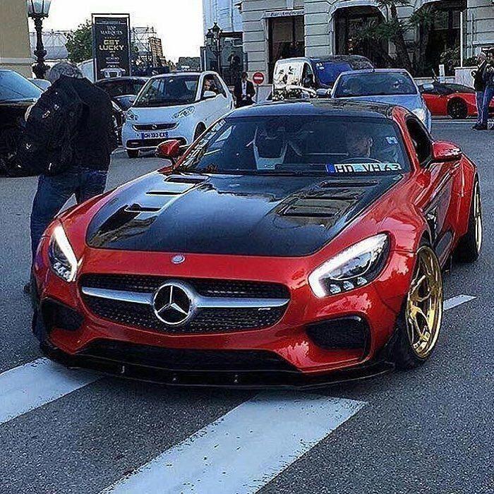 Stunning Mercedes AMG GT 😈 #MercedesBenzClassicCars