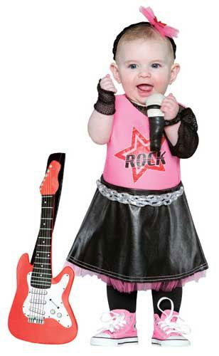 Baby Girl Rock Star Halloween Costume 18-24 months | halloween ...