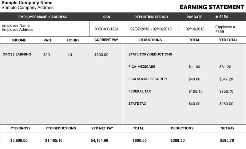 Pay Stub Maker Online Free Paystub Maker Tool For Your Stubs Stubcreator Payroll Template Free Checking Best Templates