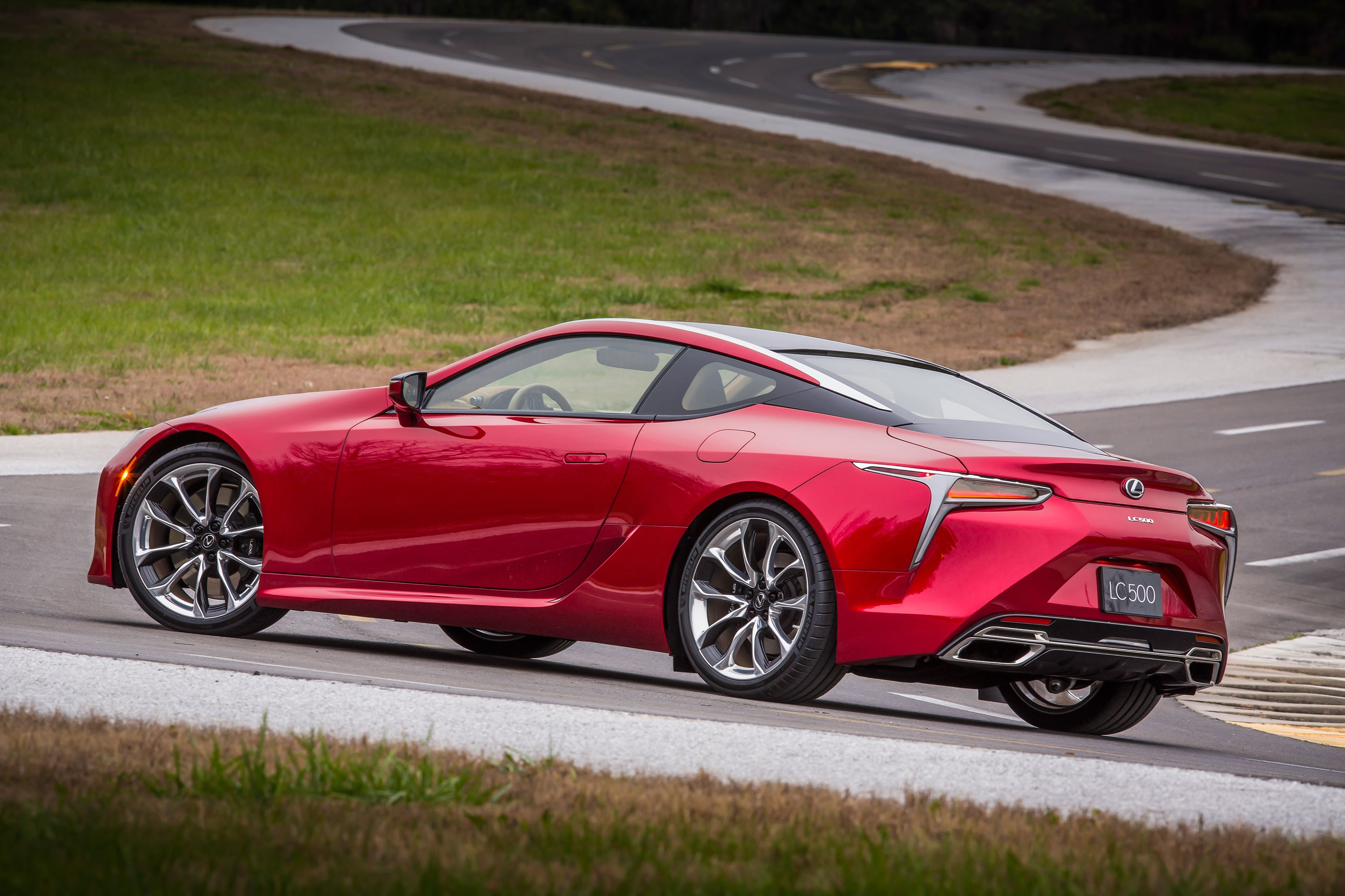 All new Lexus LC 500 global debut at 2016 NAIAS