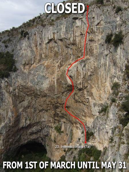 Route INTERNACIONALA in Osp, Slovenia is Temporarily CLOSED!