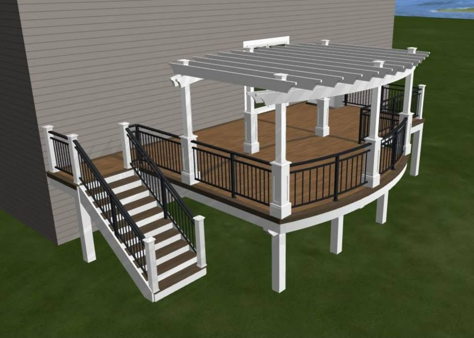 Design For My New Deck Timbertech Maintenance Free