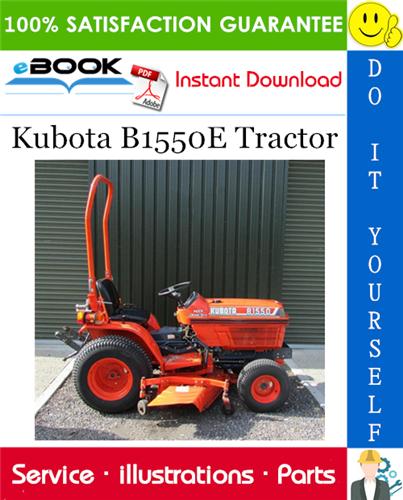 Kubota B1550e Tractor Parts Manual In 2020 Kubota Tractors Tractor Parts