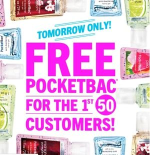 Free Pocketbac Hand Sanitizer Bath And Body Works Pocketbac