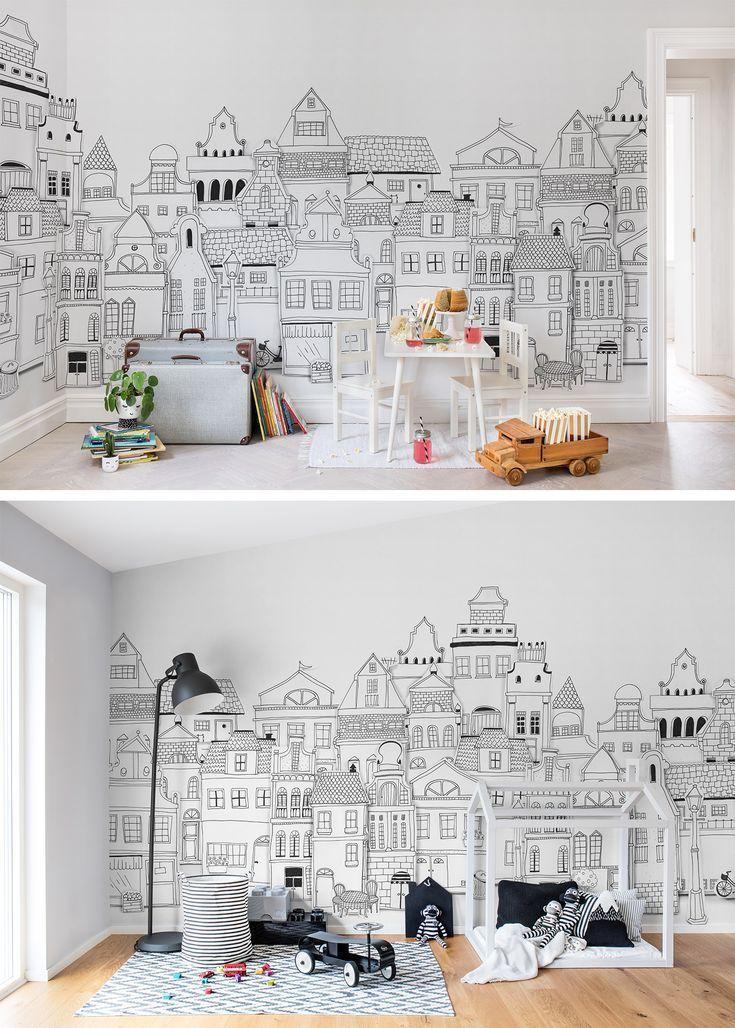 London Häuser Tapeten für's (mit Bildern) Kinderzimmer