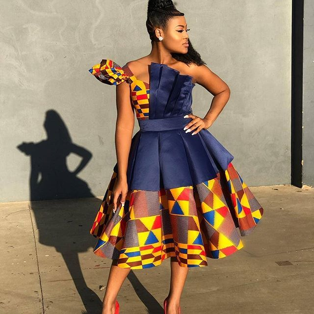 Latest African Fashion Dresses : Elegant Chic Styles You Will Love to Slay #africandressstyles