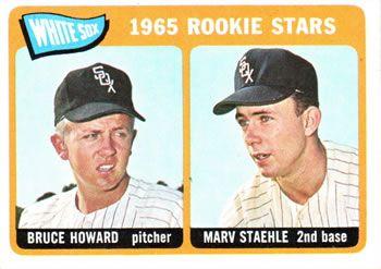 41 - White Sox Rookies - Bruce Howard - Marv Staehle RC