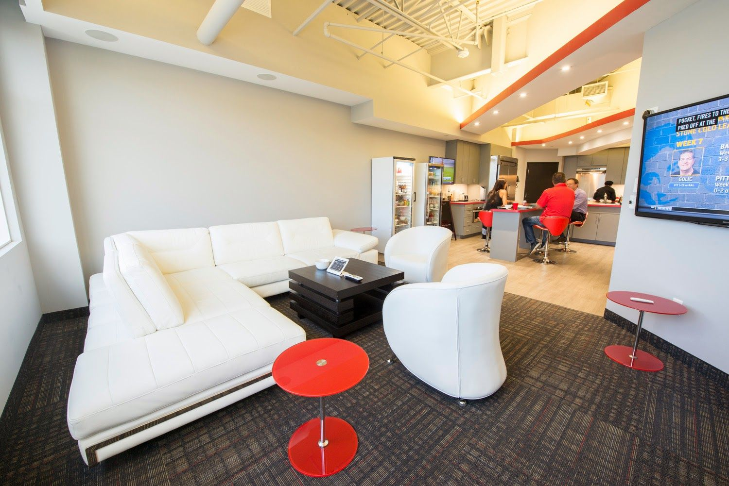 HBC Employee Lounge  | About HBC | Real estate development
