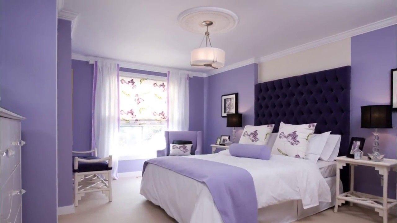 Bedroom Colors India In 2020 Purple Bedroom Walls Purple Master