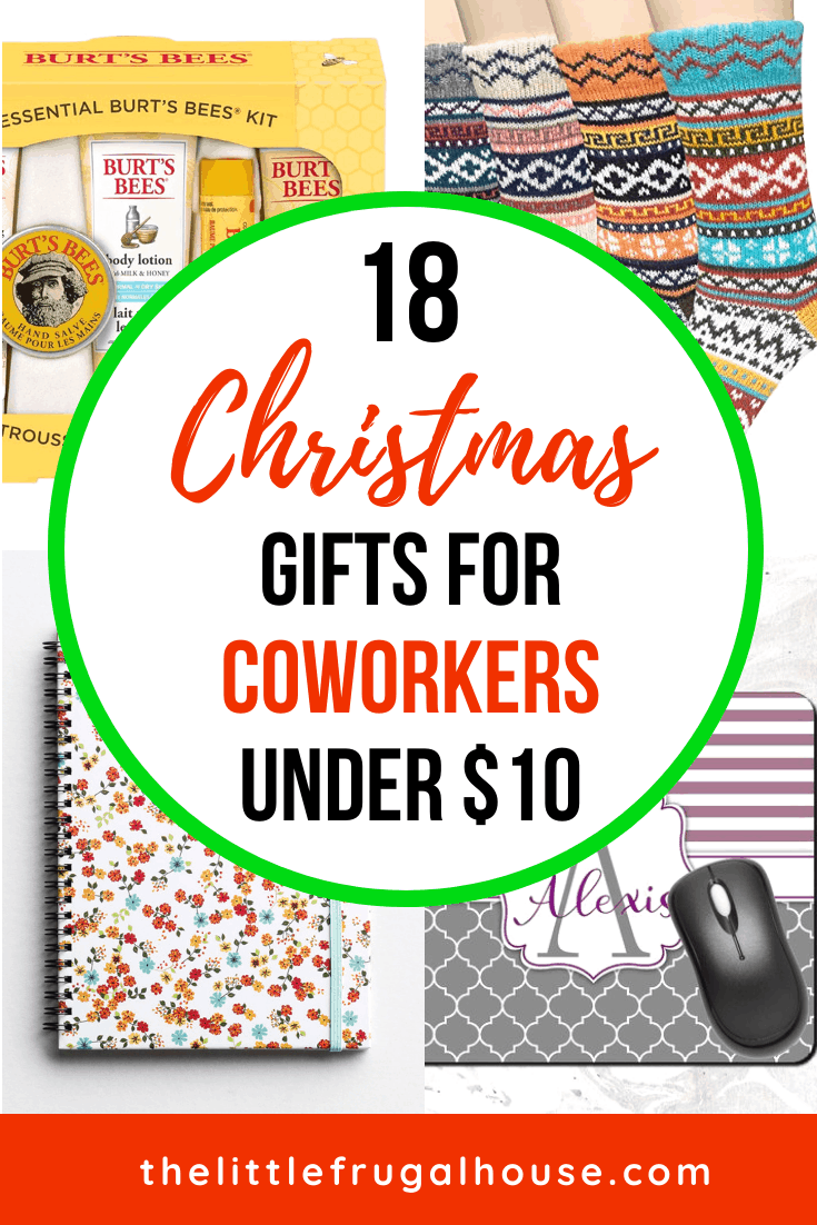 18 Christmas Gifts for Coworkers Under $10 - The Little Frugal House