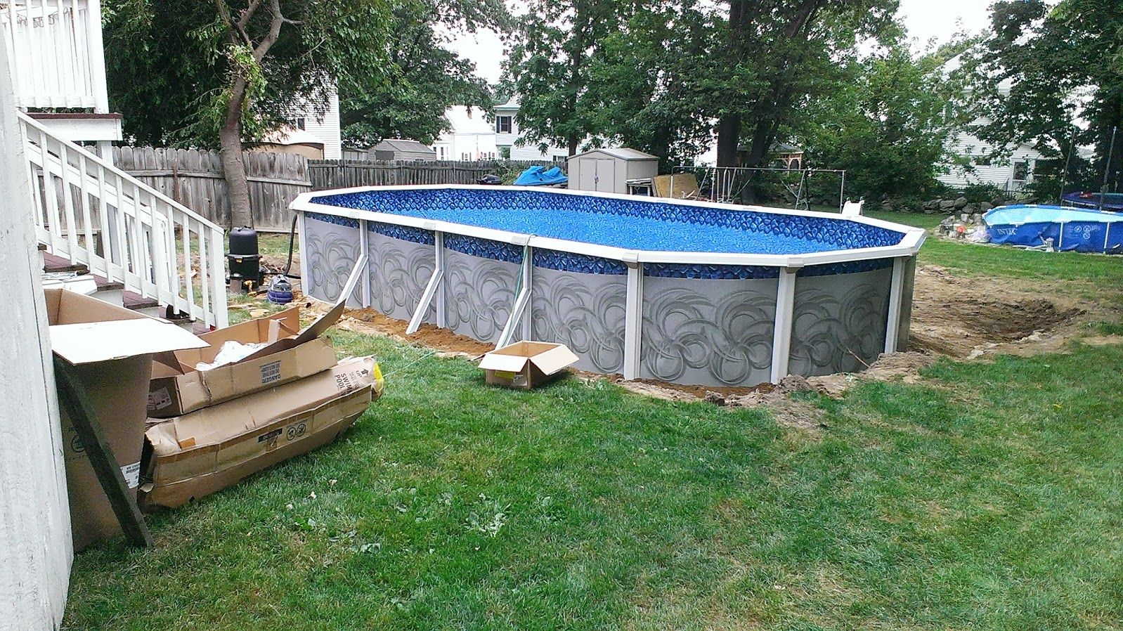 Pin by the above ground pool builder on 2013 and 2014 for Namco pools