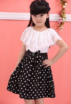 Vestidos De Niña Modernos Moda Para Niñas Vestidos Para