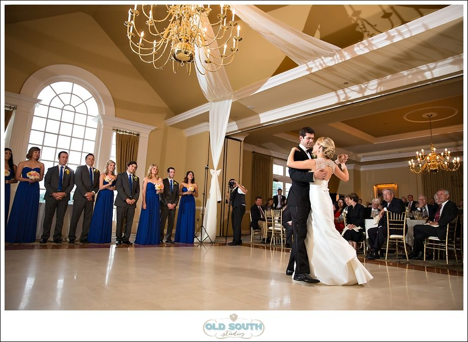 wedding ideas in blue gail and tim s weddingprovidence country club 28210