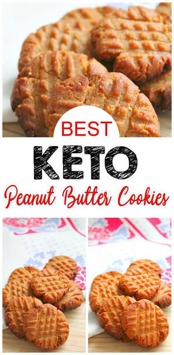 Photo of BESTE Keto-Kekse! Low Carb 3 Ingredient Erdnussbutter Cookie Idee – Schnell und einfach Ketogene Diät Rezept – Vollständig Keto-freundlich