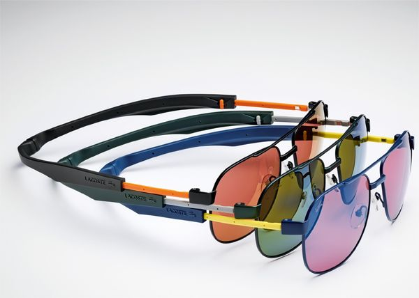 Brilhos da Moda: Os óculos de sol magnéticos da Lacoste