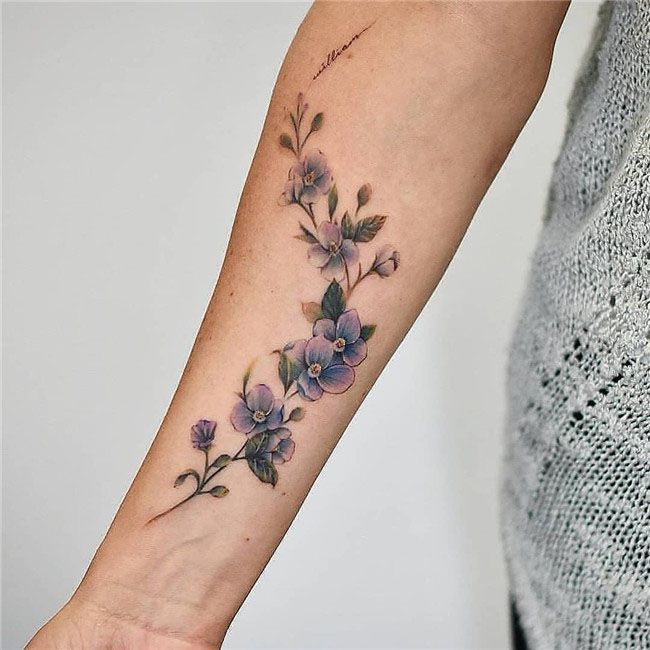 88 Best Flower Tattoos On The Internet: 78 Best Small And Simple Tattoos Idea For Women 2019