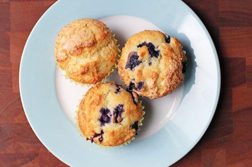 grammy's blueberry muffins