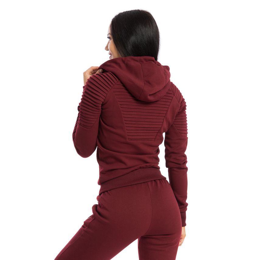 SMILODOX Zip Hoodie Damen Sport Fitness Gym Freizeit