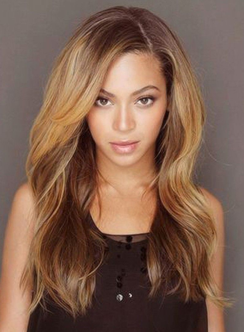 9ddbe517f08 Beyonce Long Loose Wave Human Hair Lace Front Wigs 18 Inches ...