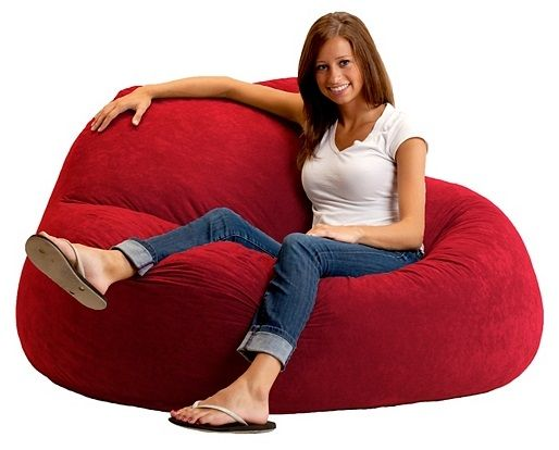 Gone Are The Days Of Flat Shapeless Bean Bags This Resilient Seating Is Filled