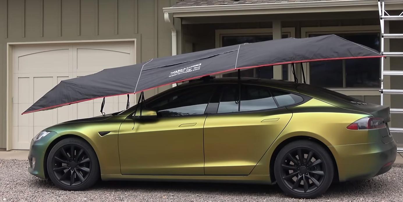 Lanmodo Pro Four-Season Automatic Car Tent | Car tent, Automatic cars, Car