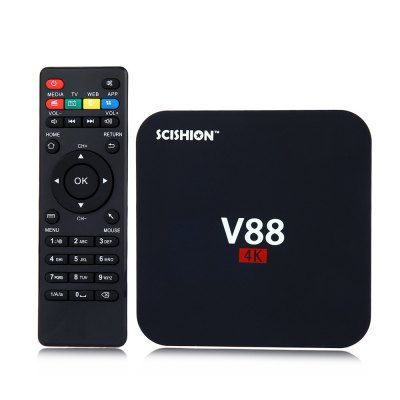 Convertidor De Pantalla A Smart Tv Inteligente Android Tv Box 4k