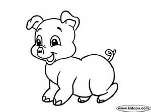 Baby Pig Coloring Pages Printable Print Our Adorable Piglet