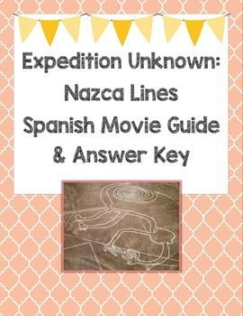 16 Spanish questions to use with the Nazca Lines (Las ...