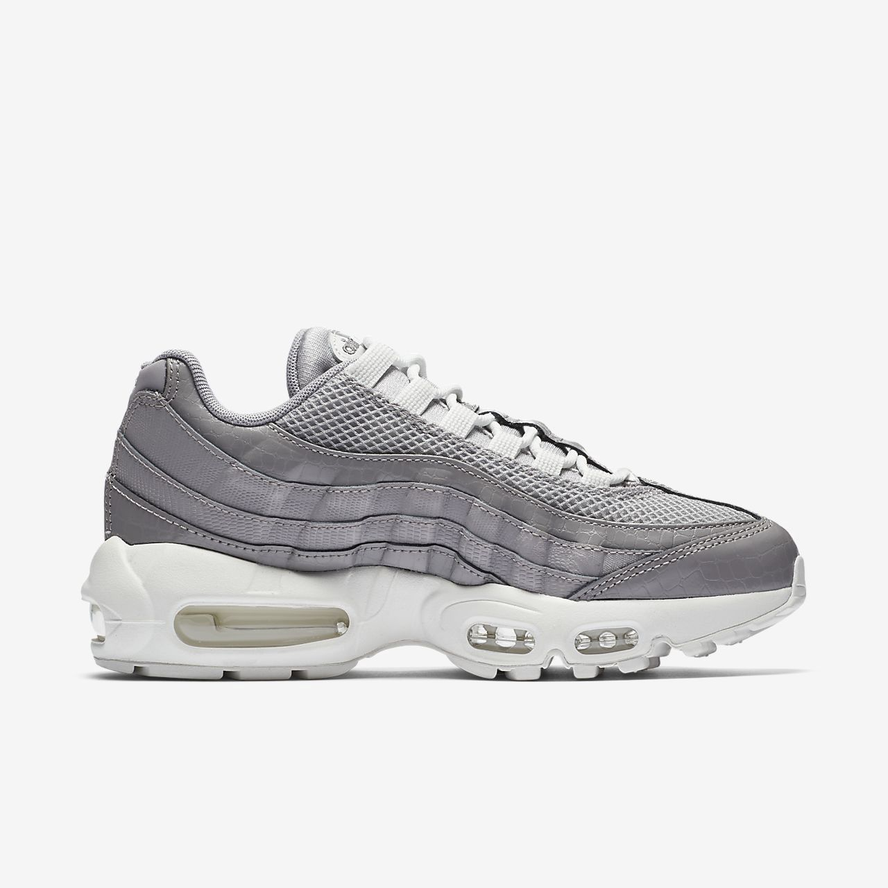 Nike Air Max 95 Premium Women's Shoe Grey (With images